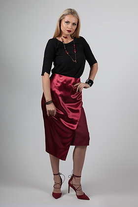 Wine Two Tone Dove Skirt