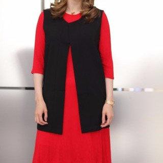 Black Long Waistcoat