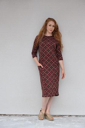 Scottish Pocket Tube Dress