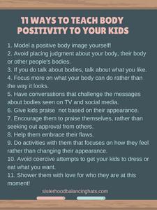 body positivity for kids