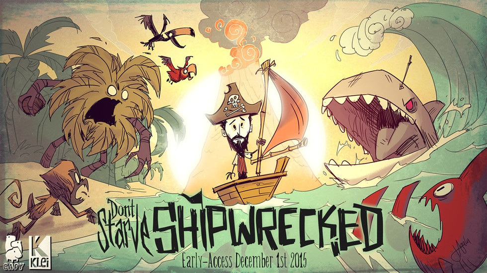 Don't Starve on Consoles is Getting Shipwrecked DLC