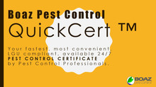 QuickCert by Boaz Pest Control