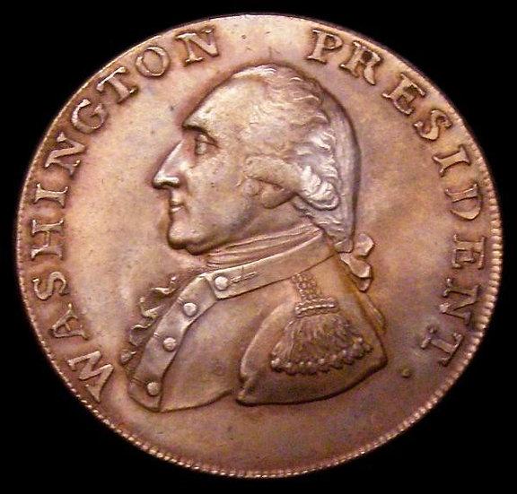 """Mynt, USA, 1 cent, 1791, """"Little eagle"""", mycket vackert/ocirkulerat exemplar"""