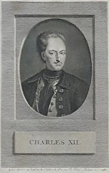 Karl XII, Alexander Tardieu, 1784