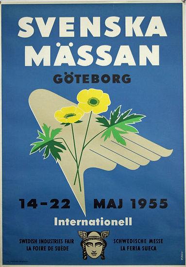 Svenska mässan 1955 W Sahlin