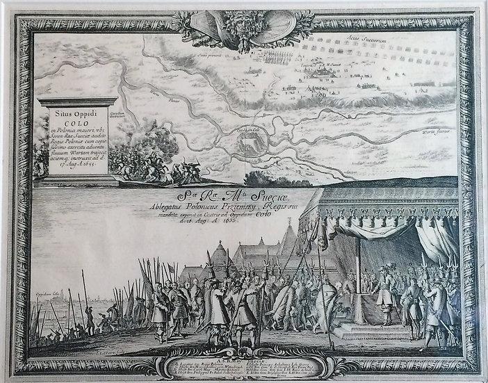 Karl X:s fältåg i Polen år 1655, Erik Dahlberg