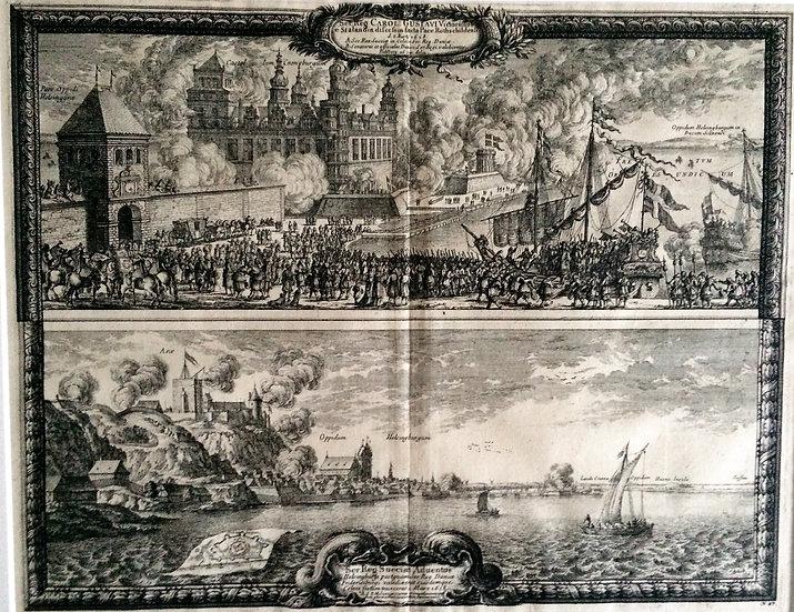 Firandet av freden i Roskilde 1658, Erik Dahlberg, Karl X