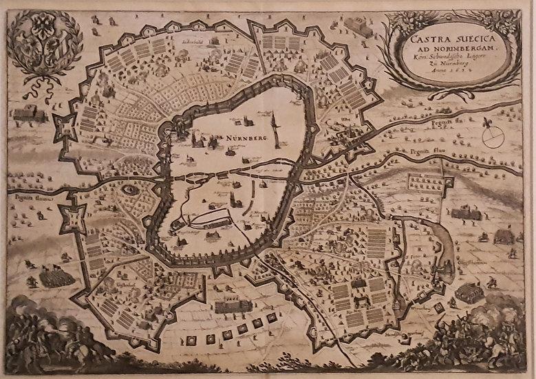 Svenska härlägret i Nürnberg 1632, Matthaeus Merian, Theatrum