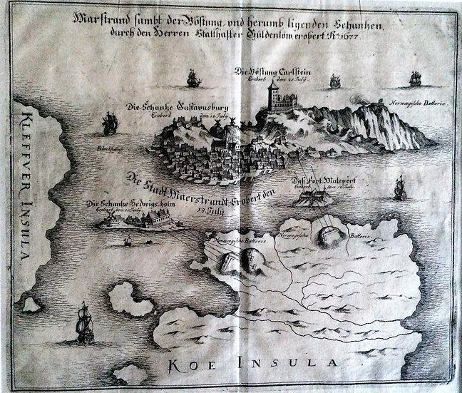 Slaget vid Marstrand 1677, Matthaeus Merian