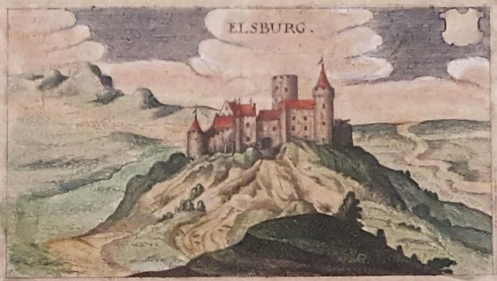 Elfsborgs slott, Älvsborg, Johann L Gottfried, 1632