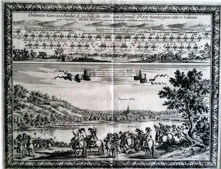 Svensk militärövning vid Mölln 1657, Erik Dahlberg