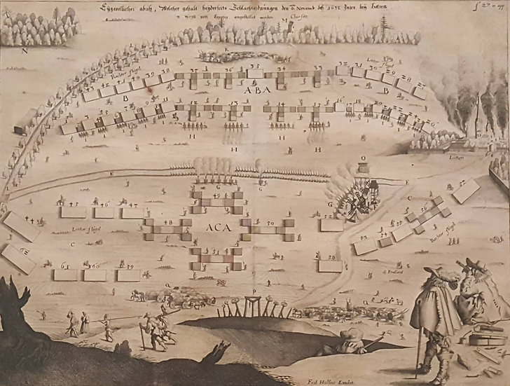 slaget vid Lützen, Gustav II Adolf, Ludwig Gottfriend, 1632