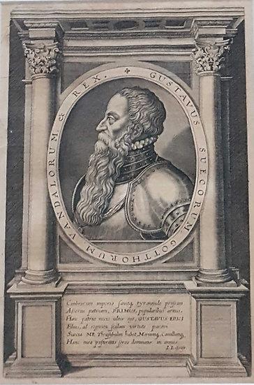 Gustav Wasa, Johann Ludwig Gottfried, 1632