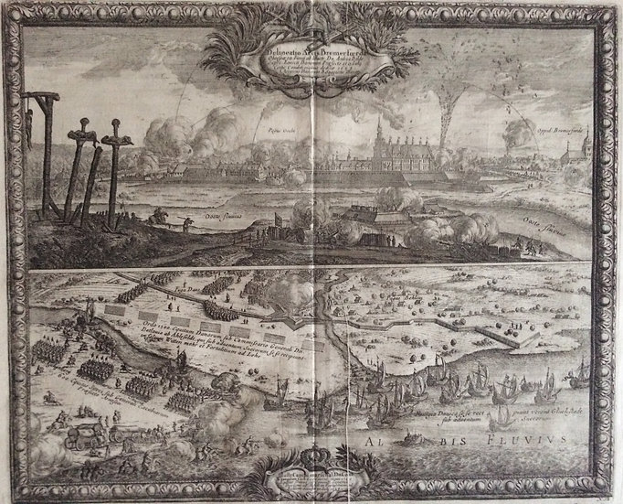 Den svenska belägringen av Bremervorde 1657, Erik Dahlberg