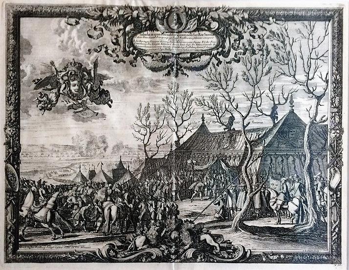 Karl X:s armé förenas med Rákóczys här, Erik Dahlberg