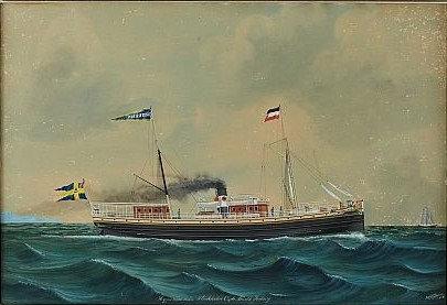 """""""Hyperion från Stockholm"""", Lars Petter Sjöström 1886"""