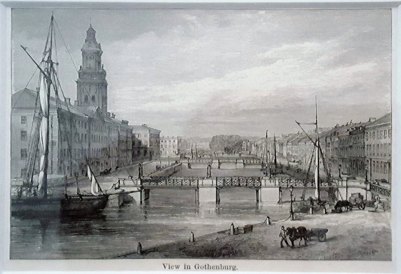"Göteborg, ""View in Gothenburg"", Richard Lovett, 1882"