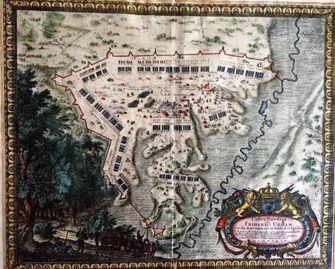 Wrangels härläger vid Friedrich Öde 1657, Erik Dahlberg