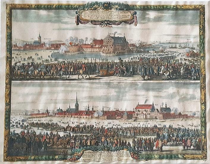 Karl X:s intåg i Malmö och Landskrona 1658, Erik Dahlberg