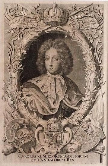 Porträtt av Karl XI,  Samuel Blesendorff