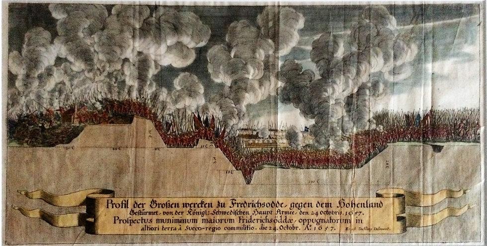 Stormningen av Fredrichsodde 1657, Matthaeus Merian