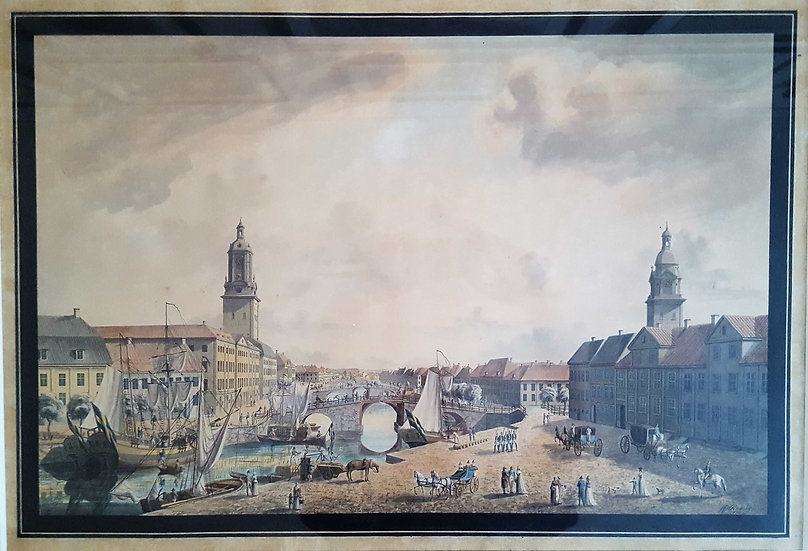 Lilla torget i Göteborg, Justus Fredrik Weinberg