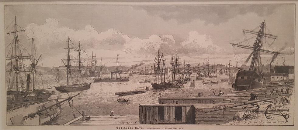 Göteborgs hamn, Peter Haglund, 1870-talet
