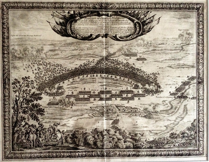 Slaget vid Filippovo 1656, Erik Dahlberg