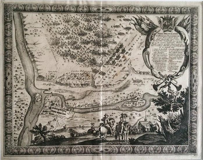 Slaget vid Nowy Dwór 1655, Erik Dahlberg, Karl X