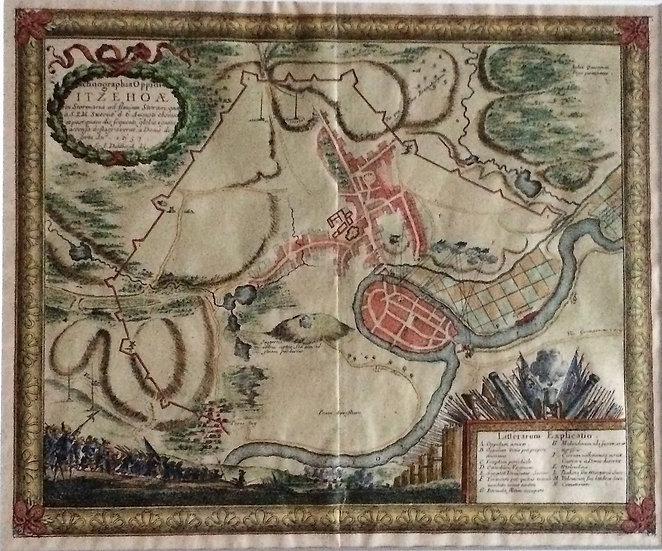 Fästningen vid Itzehoe under slaget 1657, Erik Dahlberg