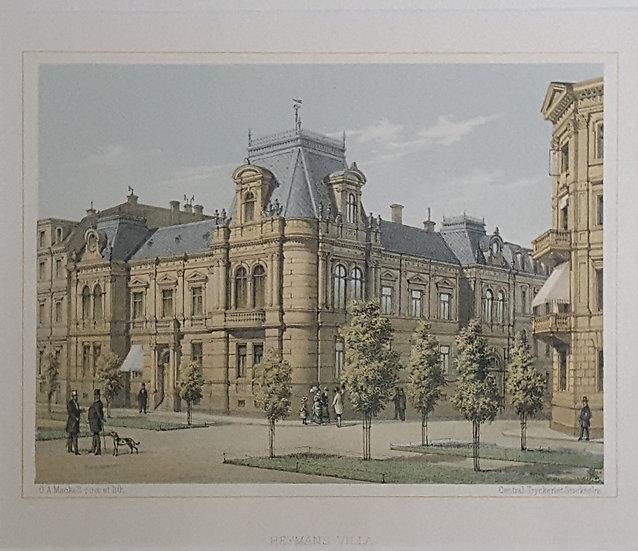 Heymans villa i Göteborg, Oscar A. Mankell