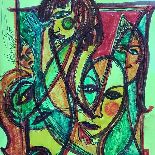 Original Artwork by Alberto Juliano