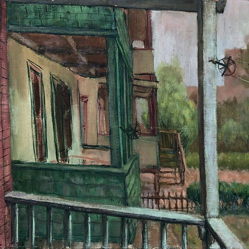 Architectural Back Porch by Anthony Vlahakis