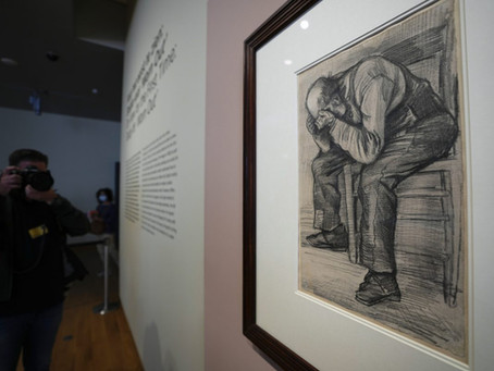 Newly Discovered van Gogh Drawing to Go on Display in Amsterdam