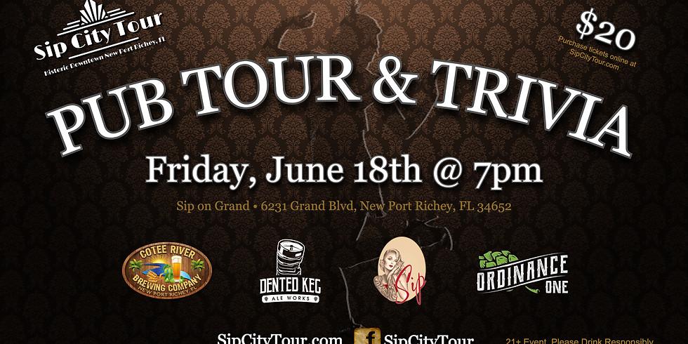 Sip City Pub Tour & Trivia