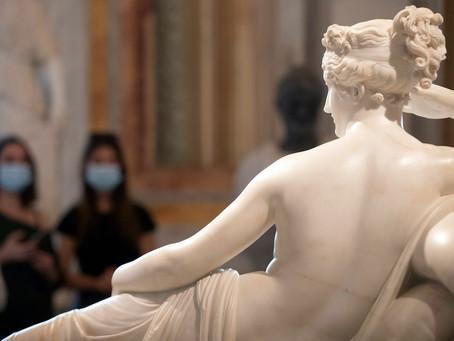 Visitor Responsible for Damage to Antonio Canova Sculpture Comes Forward