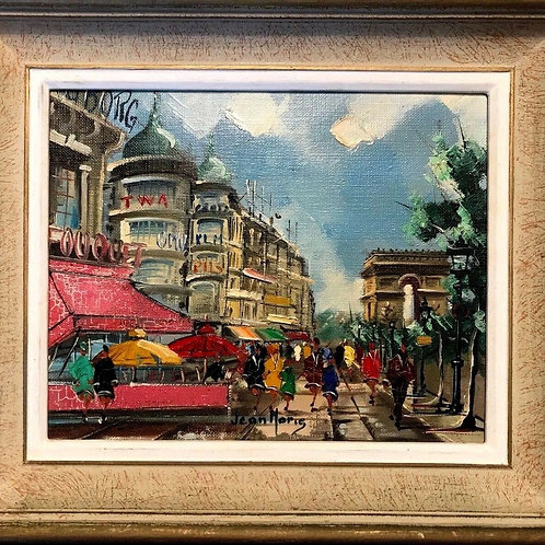 Paris France Downtown & Arc de Triomphe MCM
