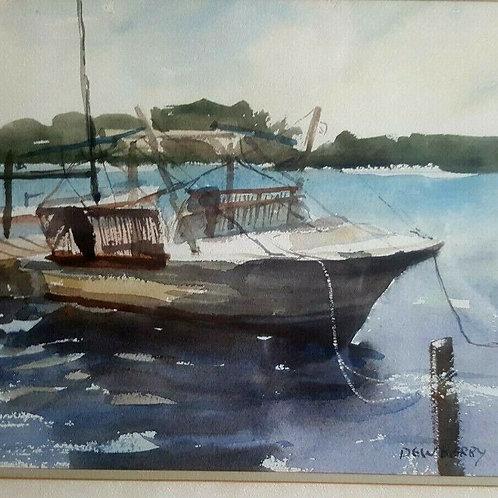 Boat Dock Marina by Thomas Dewberry