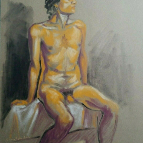 Male Nude by Melissa M Nece