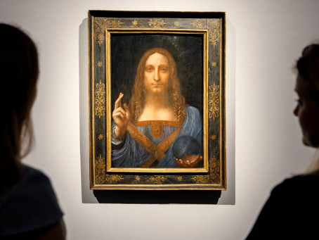 Salvator Mundi: The most expensive painting in the world is getting the Broadway treatment