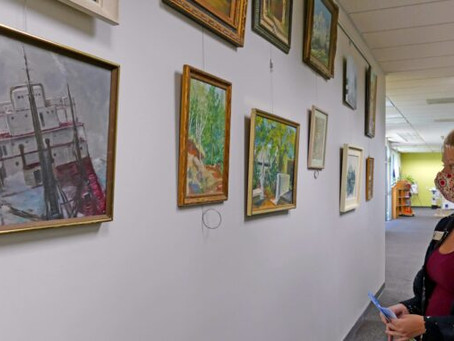 """""""Art On The Move"""" Program at the New Port Richey Public Library"""