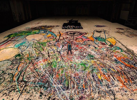 World's Biggest Canvas Painting—The Size Of Two Football Fields—To Be Auctioned In Dubai For Charity