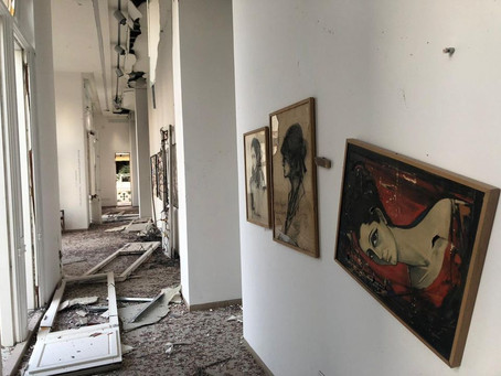 Huge Explosion in Beirut Decimates City and Leaves Art Scene in Disarray