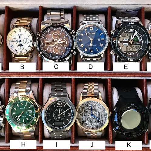 Timepieces by Stauer