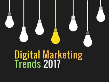 Digital marketing trends that can make a difference in 2017