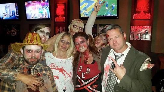 zombie bar crawl