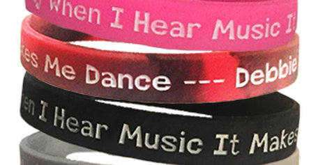 Wristband  ♬ When I Hear Music It Makes Me Dance --- Debbie Deb ♬