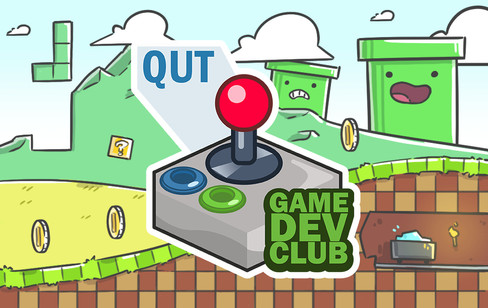 QUT Game Dev Club membership card 1