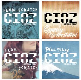 Ciaran CIAZ album covers