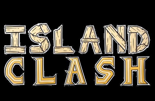 Island Clash logo text